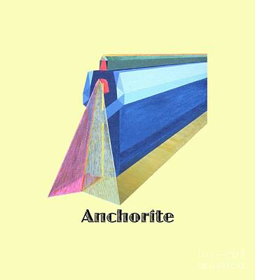 Painting - Anchorite -text by Michael Bellon