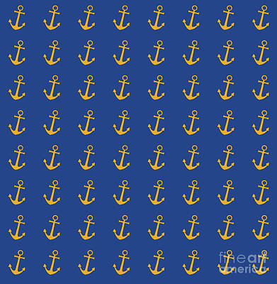 Digital Art - Anchors Aweigh by Diane Macdonald