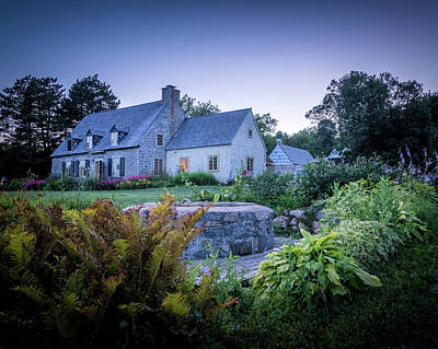 Photograph - Ancienne Maison Bordeleau by Chris Bordeleau