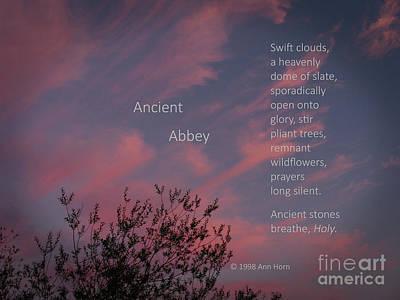 Ancient Abbey Art Print