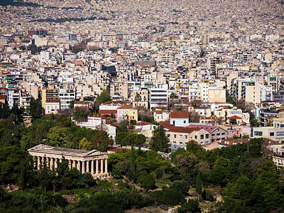Photograph - Ancient Agora Of Athens by Rae Tucker