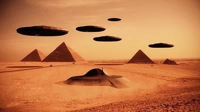Paranormal Digital Art - Ancient Aliens By Raphael Terra by Raphael Terra
