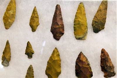 Photograph - Ancient Arrowheads by Kim Bemis
