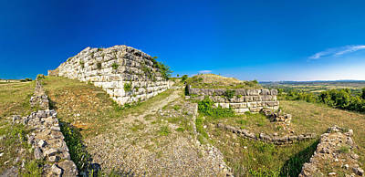 Photograph - Ancient Asseria Ruins Panoramic View by Brch Photography