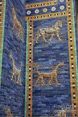 Photograph - Ancient Babylon Ishtar Gate by Patricia Hofmeester