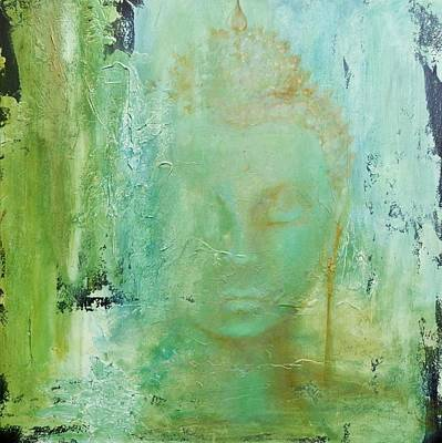 Painting - Ancient Buddha by Dina Dargo