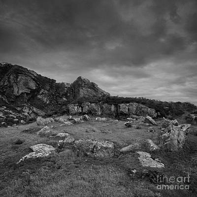 Photograph - Ancient Burial Site by Paul Davenport