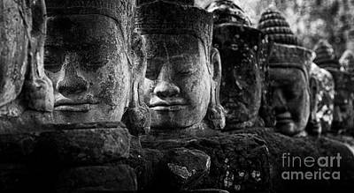 Photograph - Ancient Cambodia by Bob Christopher