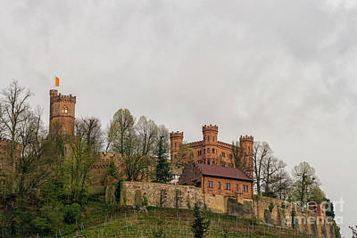 Photograph - Ancient Castle In Germany by Patricia Hofmeester