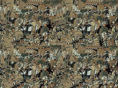 Digital Art - Ancient Celebrations X 4 by Nancy Kane Chapman