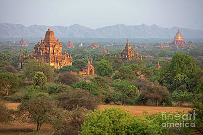 Photograph - Ancient City Bagan, Burma by Arterra Picture Library