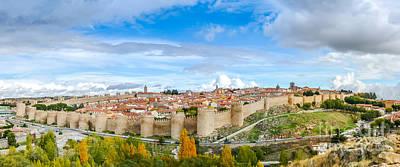 Photograph - Ancient City Of Avila, Castilla Y Leon, Spain by JR Photography
