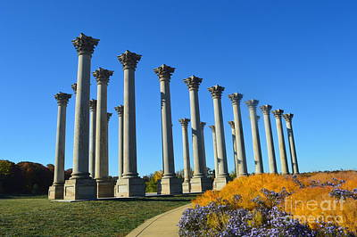 Photograph - Ancient Corinthian Columns  by Nona Kumah