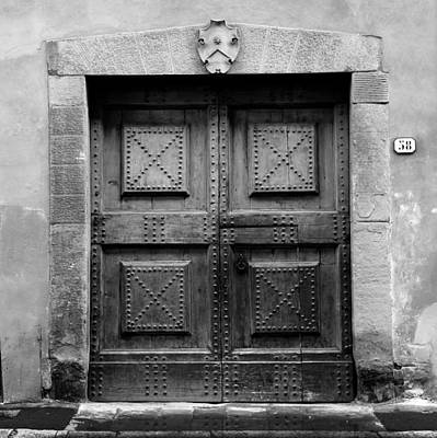 Photograph - Ancient Door 2b by Andrew Fare
