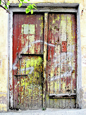 Ancient Door Original by Andy Za