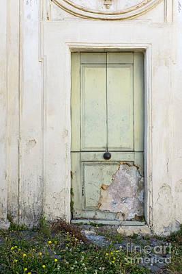Ancient Door Rome Italy Art Print
