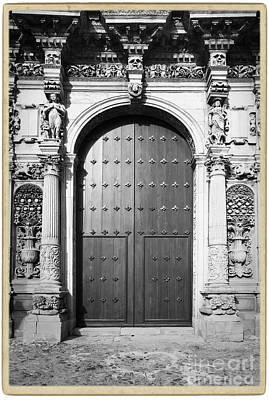 Ancient Door Print by Stefano Senise