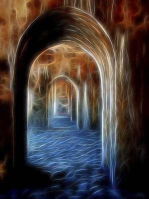 Ancient Doorway 5 Art Print