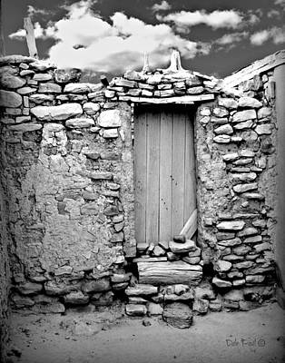 Photograph - Ancient Doorway by Dale Paul