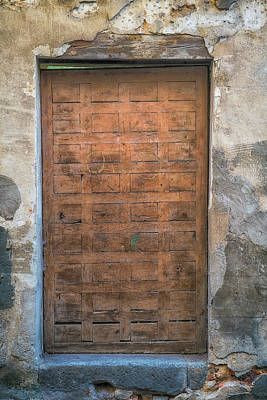 Photograph - Ancient Doorway by David Cote