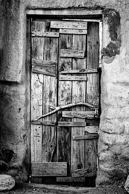 Photograph - Ancient Doorway by David Hare