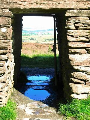 Photograph - Ancient Doorway by Stephanie Moore