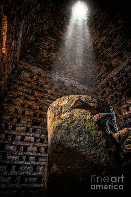 Pigeon Photograph - Ancient Dovecote by Adrian Evans