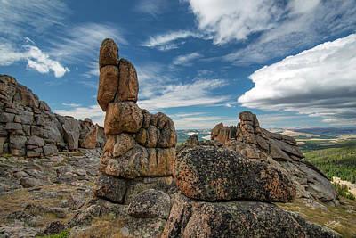 Photograph - Ancient Earth by Leland D Howard