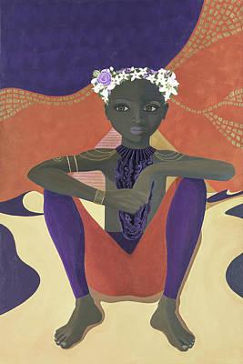 Painting - Ancient Earthling by Meniyka Kiravell
