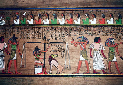 Thoth Photograph - Ancient Egypt Underworld Court Of Final Judgement by Daniel Hagerman