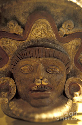 Photograph - Ancient Face El Salvador by John  Mitchell