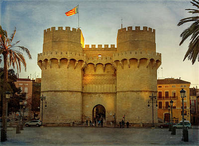 Photograph - Ancient Gateway Valencia Spain by Joan Carroll