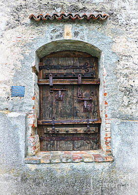 Pentagram Photograph - Ancient Gothic Door by Jutta Maria Pusl