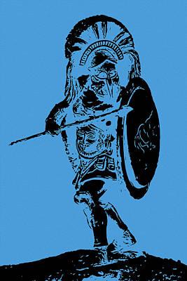 Painting - Ancient Greek Hoplite - Ancient Warfare by Andrea Mazzocchetti
