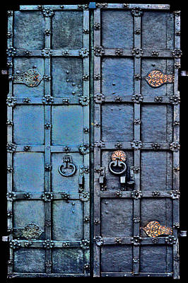 Modeling Clay Photograph - Ancient Iron Gate. by Andy Za