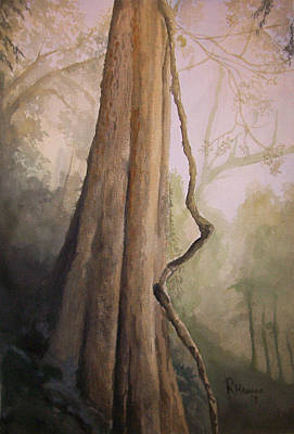 Art Print featuring the painting Ancient Life by Rachel Hames