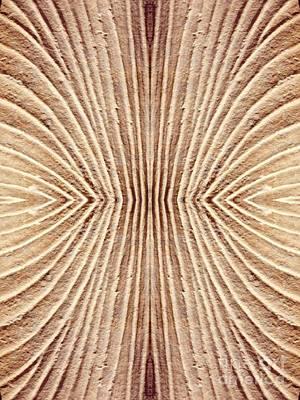 Museum Of Art Digital Art - Ancient Lines 3 by Sarah Loft