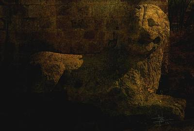 Photograph - Ancient Lion In Cyprus by Jim Vance