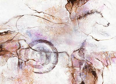 Ancient Messages No. 104  Art Print