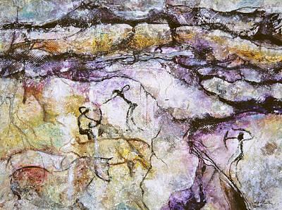 Ancient Messages No. 133 Art Print