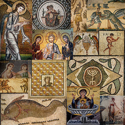 Photograph - Ancient Mosaics 1 by Andrew Fare