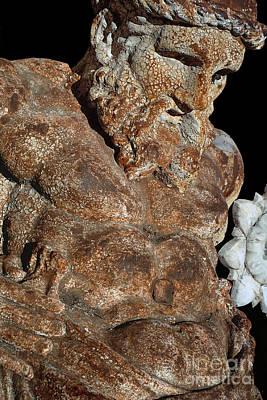 ancient nudes photograph - Atlas Shrugged Art Print