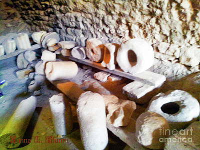 Photograph - Ancient Objects by Donna L Munro