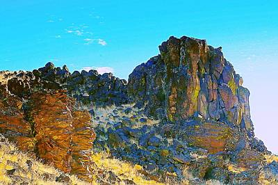 Photograph - Ancient Oregon Landscapes by Steve Warnstaff