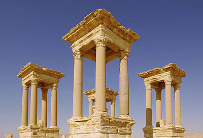 Syria Photograph - Ancient Palmyra by Roman School