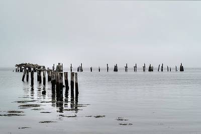 Digital Art - Ancient Pier by Patrick Groleau
