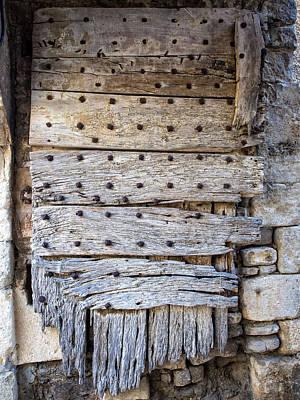 Photograph - Ancient Portal At Seguret by Gary Karlsen