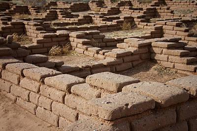 Photograph - Ancient Pueblo Adobe Walls by Mary Lee Dereske