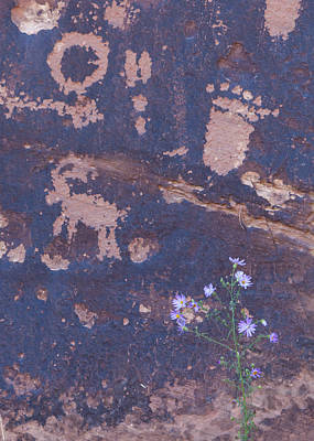Photograph - Ancient Rock Art by David Watkins