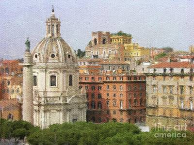 Painting - Ancient Rome by Sarah Kirk